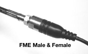 FME Male and Female Connectors